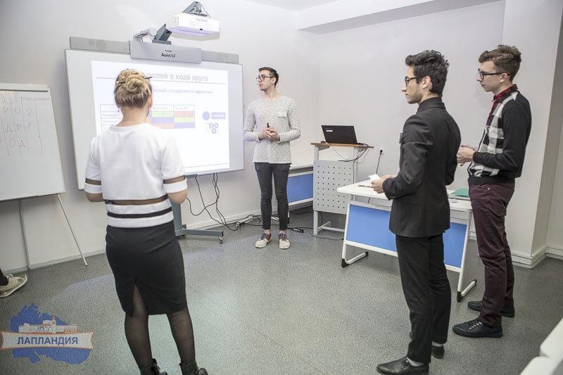 В центре «Лапландия» состоялся Региональный этап Всероссийского химического турнира школьников