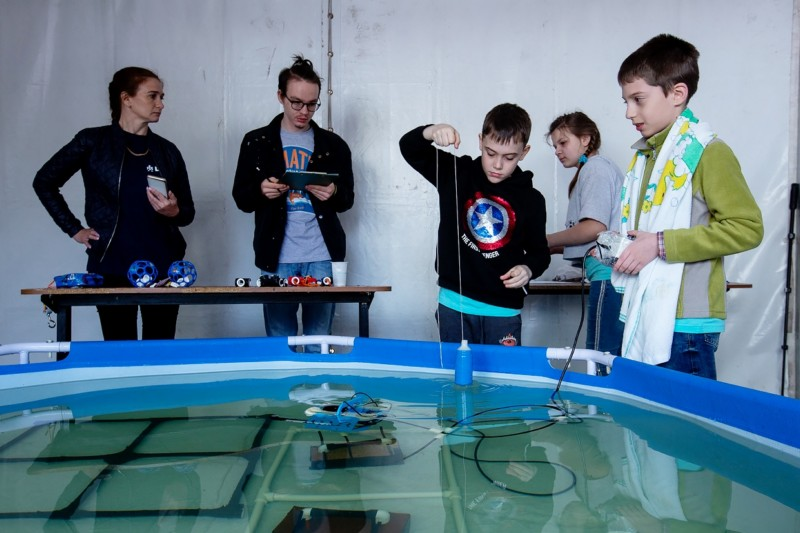 Russia-Far East Regional MATE ROV Competition